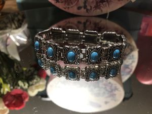 Pretty!!! Silver Turquoise Bracelet for Sale in Gainesville, VA