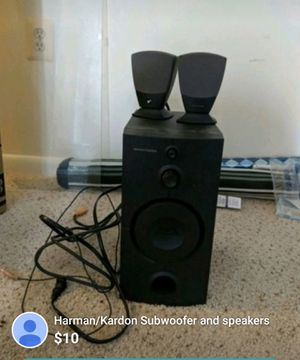 Harman/Kardon Subwoofer w/ speakers for Sale in Silver Spring, MD