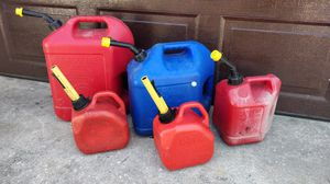 Gas can for Sale in Port St. Lucie, FL