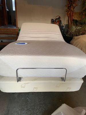 Tempurpedic twin bed with massager for Sale in Olathe, KS