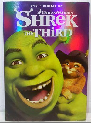 Shrek The Third DreamWorks Dvd Movie Shrek the 3rd dvd movie for Sale in Miramar, FL