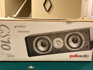 Polk audio CS10 Center channel for Sale in Frederick, MD