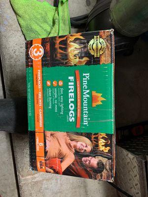 6pack of Pine mountain fire logs (3hrs) for Sale in Phoenix, AZ