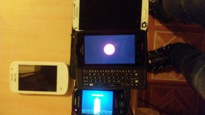 4 smartphones could be used for parts or get them fixed for Sale, used for sale  Brooklyn, NY