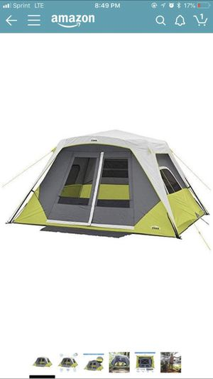 Core 6 person instant tent for Sale in Los Angeles, CA