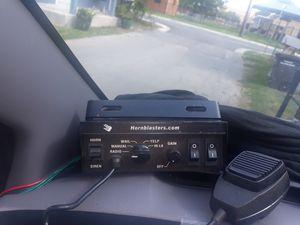 Horn Blaster Pa Police Siren for Sale in San Antonio, TX