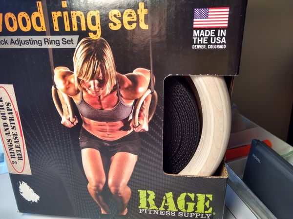 Workout Wood Rings