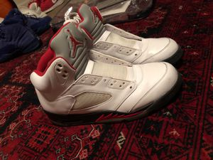 Air Jordan 5 metallic fire red for Sale in Knoxville, TN