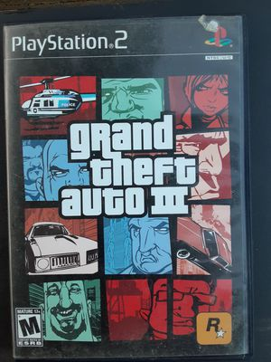 PS2 GTA 3 with memory card for Sale in Washington, DC