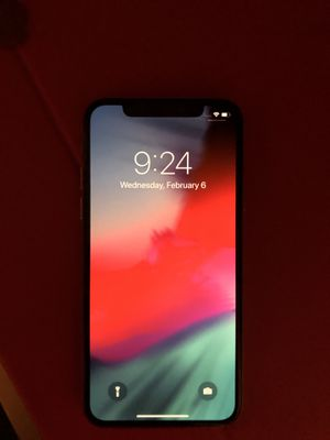 Iphone X silver 64gb for Sale for sale  Brooklyn, NY