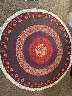Earthbound round tapestry - like new and barely used for Sale in Crowley, TX