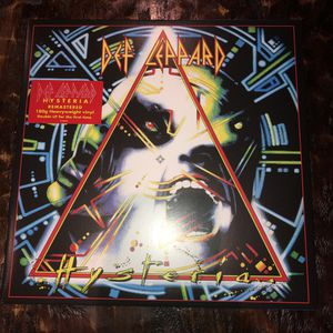Def Leppard Hysteria 2 LP Vinyl Record 180 Gram for Sale in Rancho Cucamonga, CA