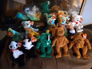Ty beanie babies rare retired pristine for Sale in Palmdale, CA