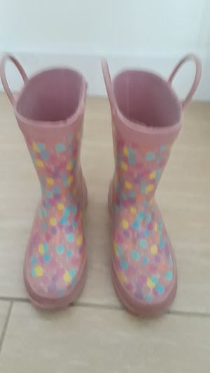Girls rain boots for Sale in Framingham, MA