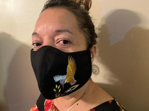 Embroided bird face mask for Sale in Peachtree Corners, GA