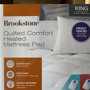 NEW KING SIZE HEATED MATTRESS PAD $60 for Sale in Newport Beach, CA