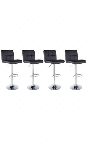Bar stool, modern swivel barstools set of 4, modern furniture. for Sale in Maricopa, AZ