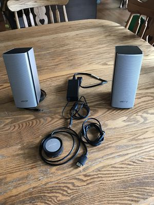 Bose Companion 20 Speakers for Sale in West Chicago, IL