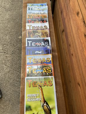 Texas Parks & Wildlife Magazine (12 issues) for Sale in Buda, TX