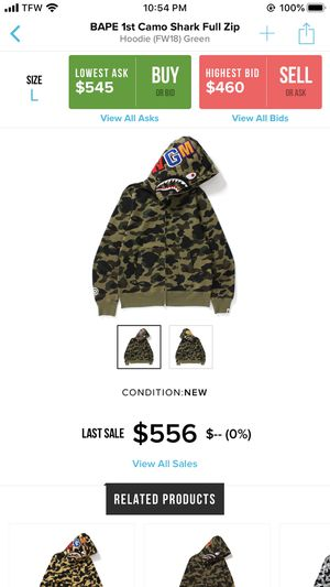 Bape hoodie for Sale in Staten Island, NY