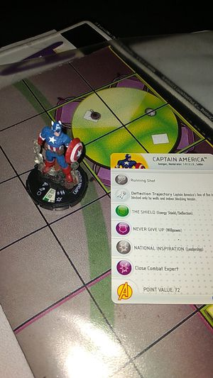 Heroclix captain America #40 for Sale in Pomona, CA