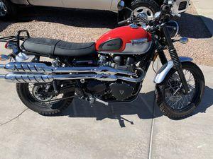 2016 Triumph 900 motorcycle for Sale in Scottsdale, AZ