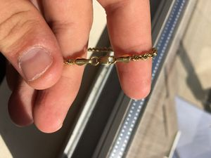 Solid 10k gold chain for Sale in Menifee, CA