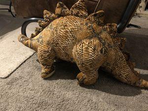 Stegosaurus stuffed animal for Sale in Renton, WA