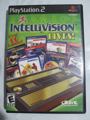 Intellivision Lives! Sony PlayStation 2 PS2 2003 with Manual for Sale in Los Angeles, CA