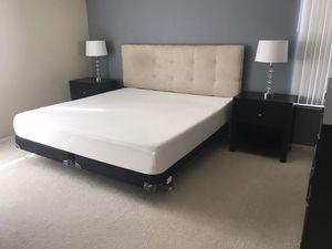 Bedroom Set with Mattress, Headboard, Bed Frame, Nightstands and Dresser for Sale in Newark, CA