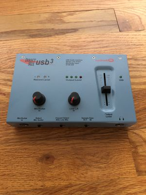 Aardvark Direct Mix USB3 recording audio interface for Sale in Smyrna, GA