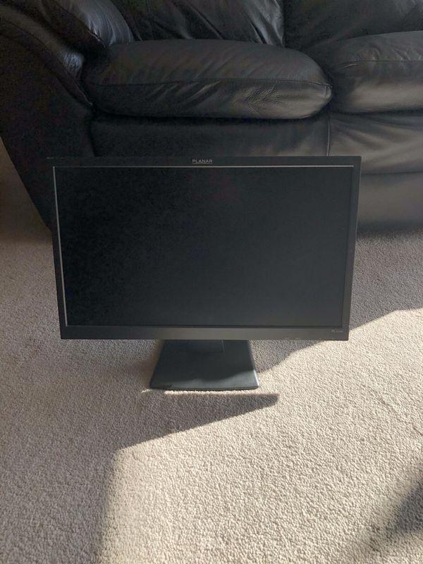 Planar computer screen