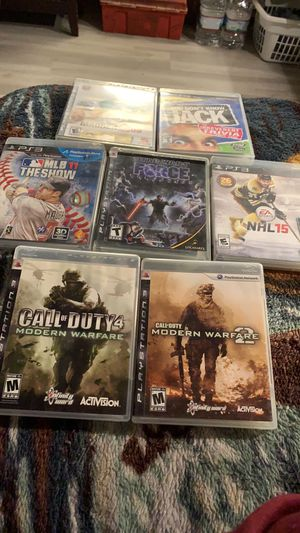 PS3 GAMES for Sale in Saint Paul, MN