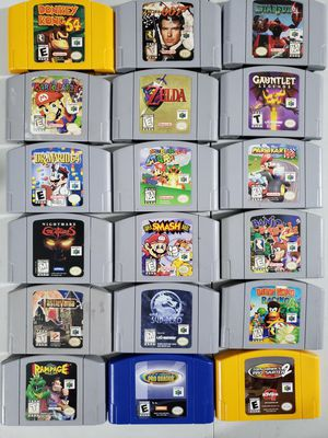 Nintendo 64 games for Sale in Tampa, FL