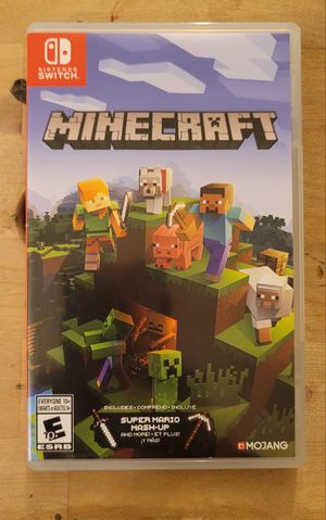Minecraft Game for Nintendo Switch & N.S Lite for Sale in Los Angeles, CA