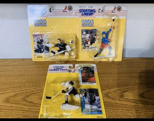 New 90s STARTING LINEUP NHL Hockey toys action figures for Sale in Mesa, AZ