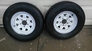 2 Trailer tires in new condition..size 175/80/13 for Sale in Fontana, CA