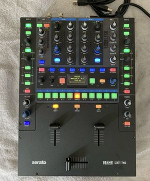 Rane 62 pro mixer for Sale in Seymour, CT