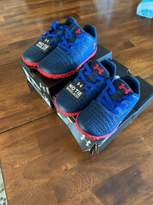 Kids Under Armour shoes 5k and 7k for Sale in Roseville, CA