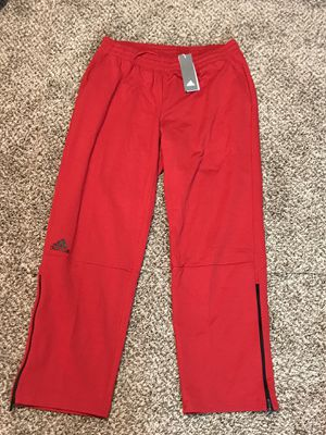 Adidas Men's Squad Pant, Red. New with tags for Sale in French Creek, WV