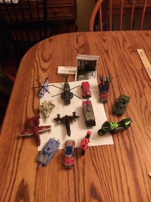 Group of Small Transformers - $10.00 for all for Sale in St. Louis, MO