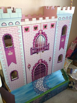Toy Castle & Bookcase for Sale in San Leandro, CA