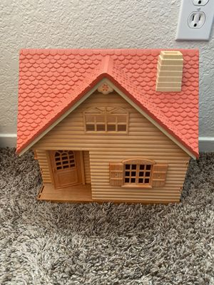 Vintage Calico Critters Cozy Cottage Bungalow House for Sale in Fresno, CA