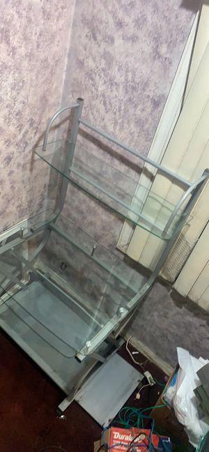 Desktop Glass Desk for Sale in Los Angeles, CA