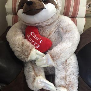 Teddy Sloth For Valentine Day for Sale in Philadelphia, PA