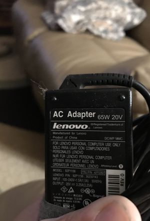 Lenovo Laptop Charger 🔌 for Sale in Joliet, IL
