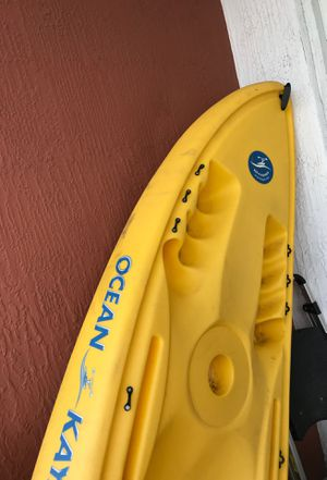 Ocean kayak with paddles for sale ! $200 for Sale in Fort Lauderdale, FL