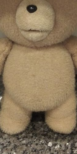 """TED 16"""" Talking Plush Teddy Bear for Sale in Gaithersburg,  MD"""