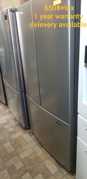 New items, Appliances 100% new, lg, samsung, whirlpool..... 1 year warranty , delivery for Sale in Providence, RI