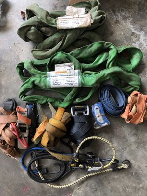 Tie downs with ratchets for Sale in Prattville, AL